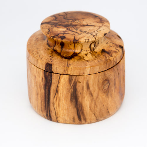 Spalted Maple Stash Box
