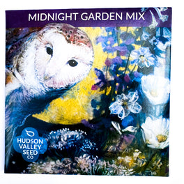 Midnight Garden Flower Mix by Hudson Valley Seed Company