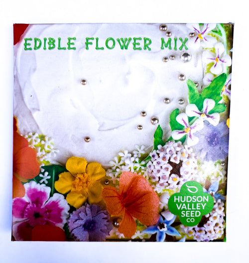 Edible Flower Mix by Hudson Valley Seed Company