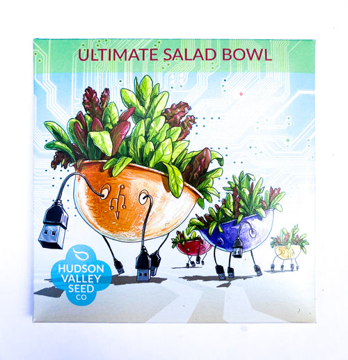 Ultimate Salad Bowl from Hudson Valley Seed Library