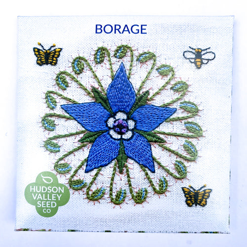 Borage from Hudson Valley Seed Company