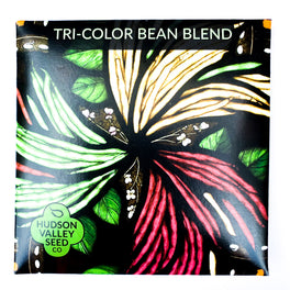 Tricolor Bean Blend from Hudson Valley Seed Company