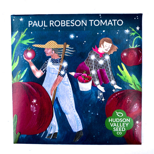 Paul Robeson Tomato from Hudson Valley Seed Library
