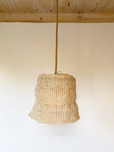 Basketry Lamp