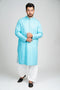 Burooj Men's Light Blue Kurta
