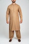 Burooj Men's Shalwar Kameez Classic Tan Colour 2 piece