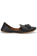 Burooj Men's Black Tassal Leather Kussah