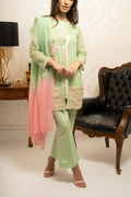 Green Jacket Ladies 3pc suit
