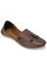 Burooj Men's Brown Tassal Leather Kussah