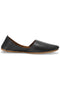 Burooj Men's Black Pebble Leather Kussah