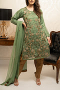 Green Ladies 3pc  suit