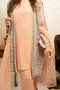 Burooj Ladies Peach Jacket Ladies suit