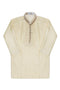Boys Kids Cream Shalwar Kameez 2 pc