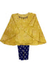 Girls Yellow Capri 2pc