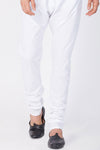 Men's off-white Cotton Silk Churidar