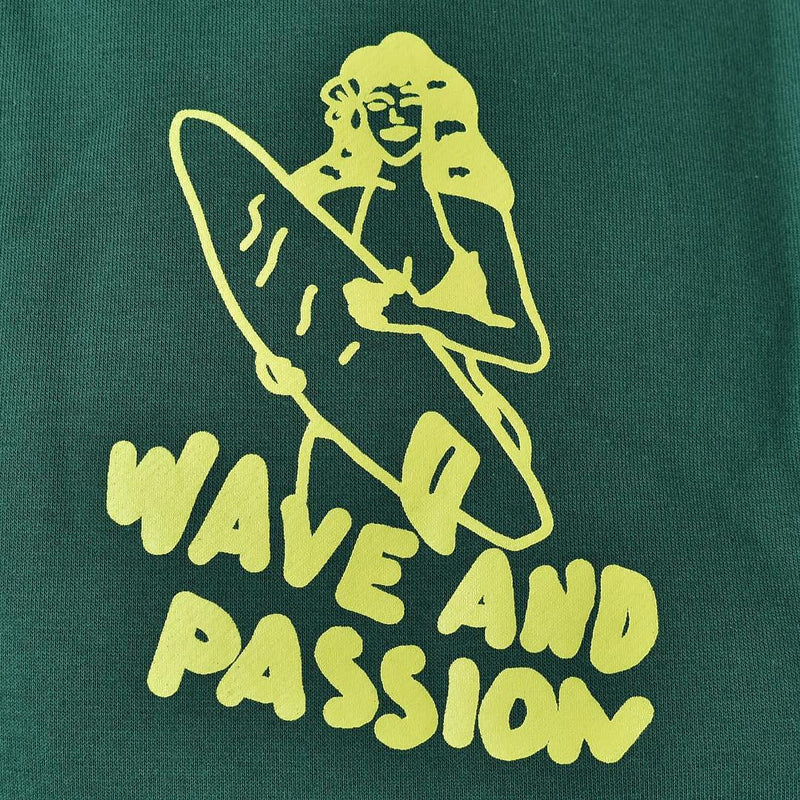 Sweater Hoodie Wave And Passion