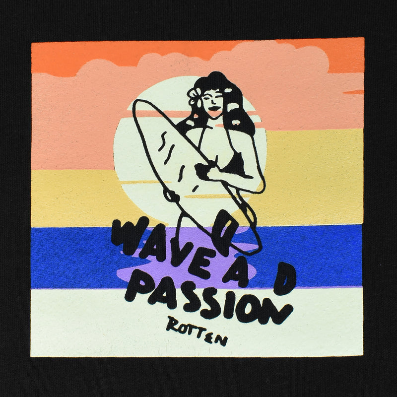 Sweater Crewneck Wave Passion