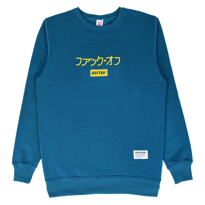 Sweater Crewneck Fuck Off