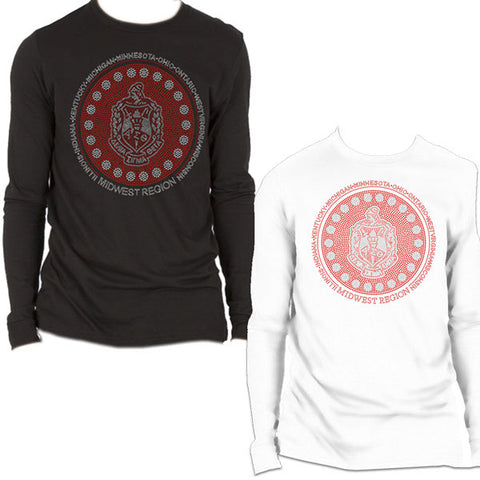 DST Midwest Region Bling Long-Sleeve T-Shirt*