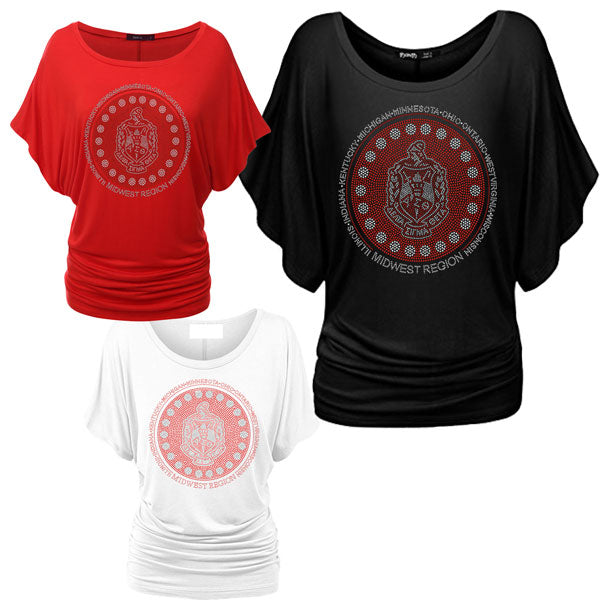 DST Midwest Region Bling Dolman/Batwing Shirt*