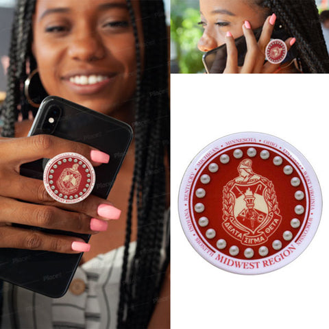 Mobile Phone Popsocket with DST Midwest Region Logo
