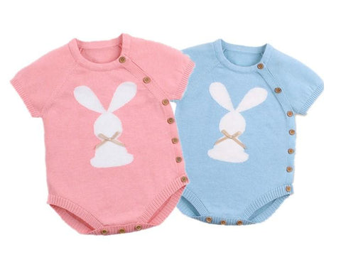 Short-sleeved bodysuit for a newborn - KiddieWorld