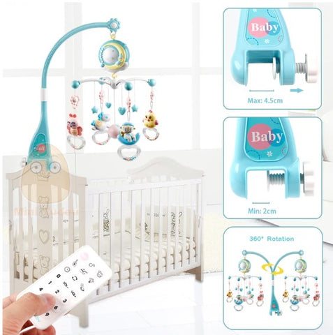 Musical hanging toy for crib - KiddieWorld