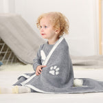 Infant Baby Knitting Blanket - KiddieWorld