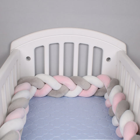Braided crib bumper - KiddieWorld