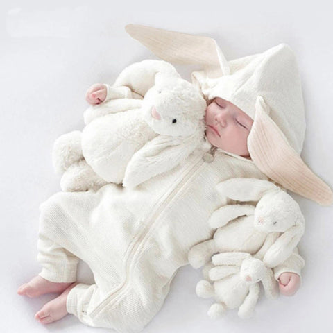 Rabbit baby rompers - KiddieWorld