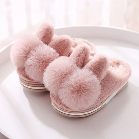 Baby Slippers Cute Cartoon Rabbit - KiddieWorld