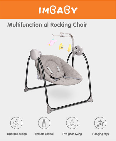 Electric Baby Cradle rocking Chair - KiddieWorld