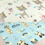 folding cartoon children's play Mat - KiddieWorld