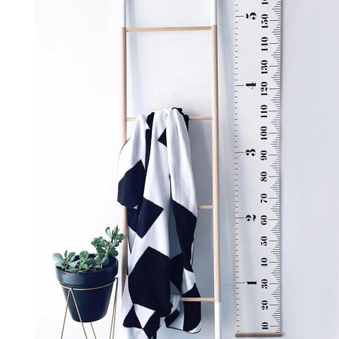 NORDIC STYLE KIDS HEIGHT GROWTH SIZE CHART - KiddieWorld