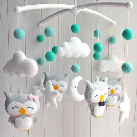 hanging carousel toys for baby cots - KiddieWorld