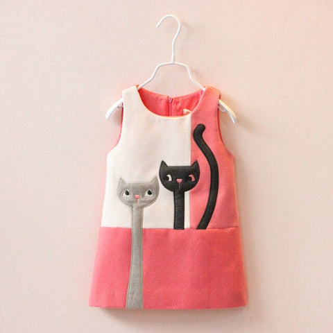 Dress with cats - KiddieWorld