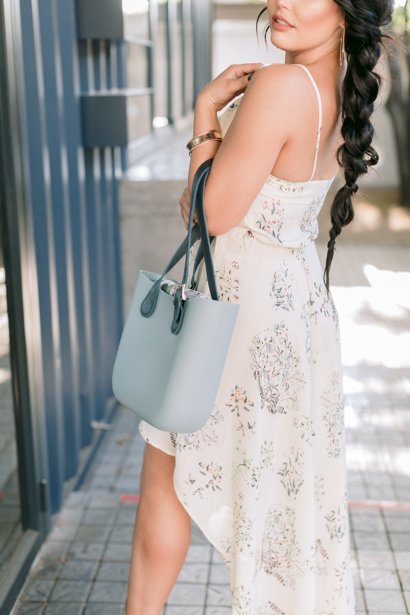 Fit and Flare Milk Dress