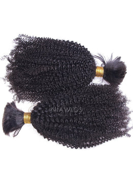 Bulk Hair Extenstion For Braiding Without Attachment Afro Kinky Curly