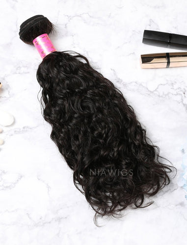 Hair Weft Bundles Natural Color Brazilian Natural Curly Human Hair