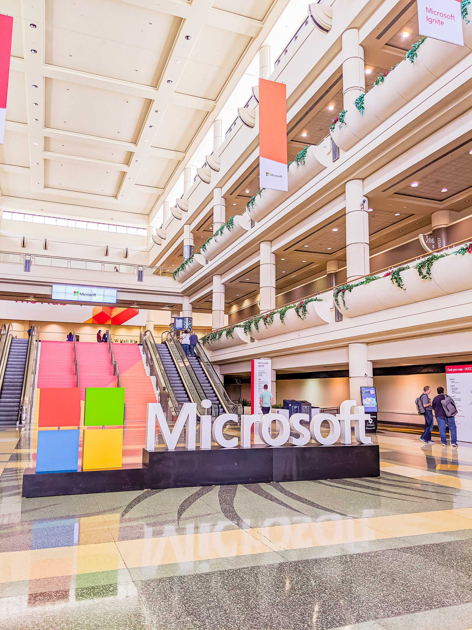 Microsoft Ignite 2019 at the Orange County Convention Center