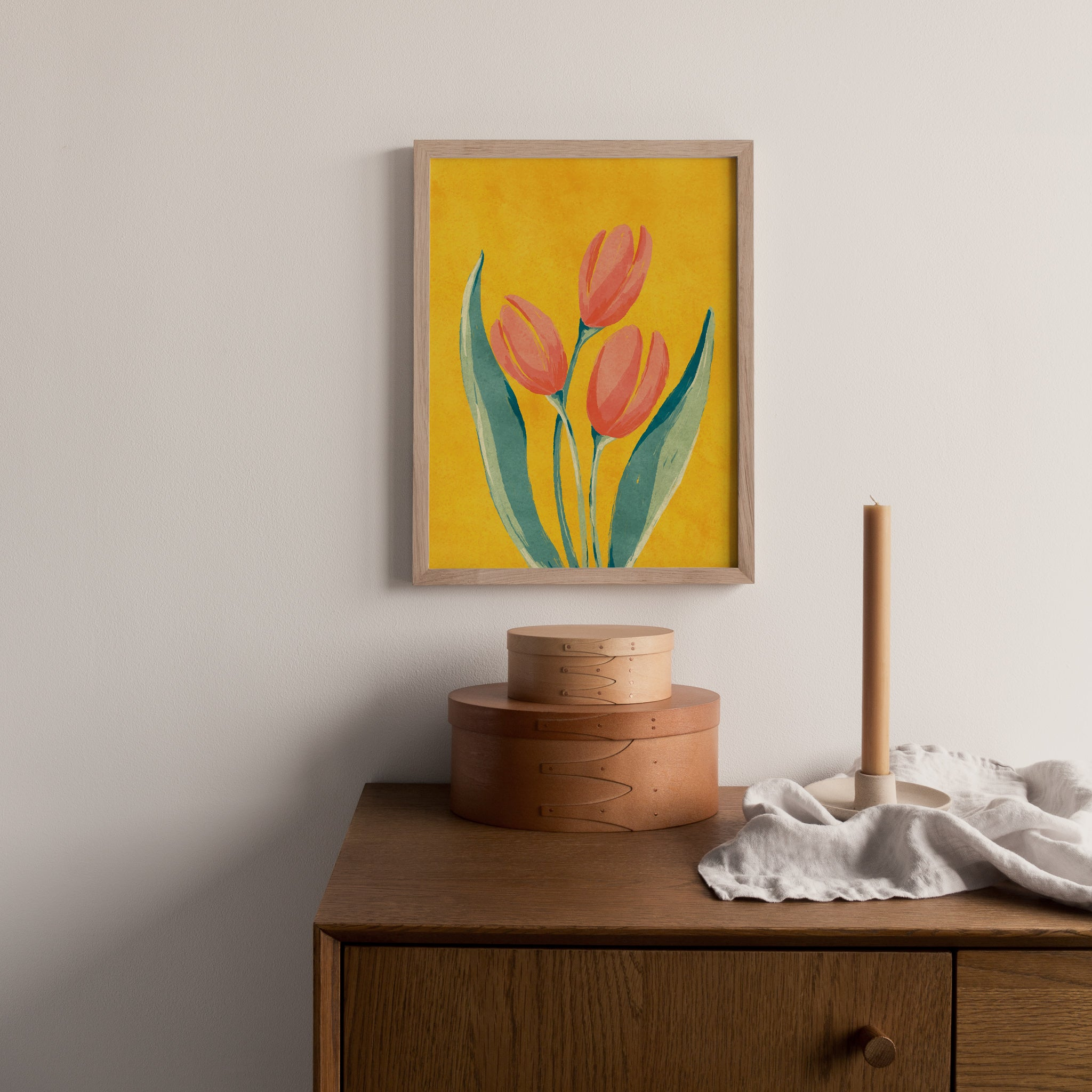 French Tulip Art Print