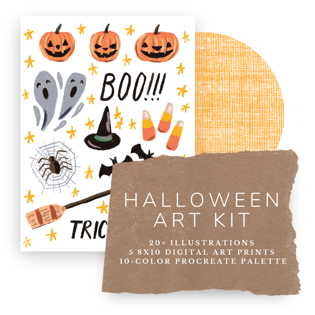 Halloween Art DIY Kit