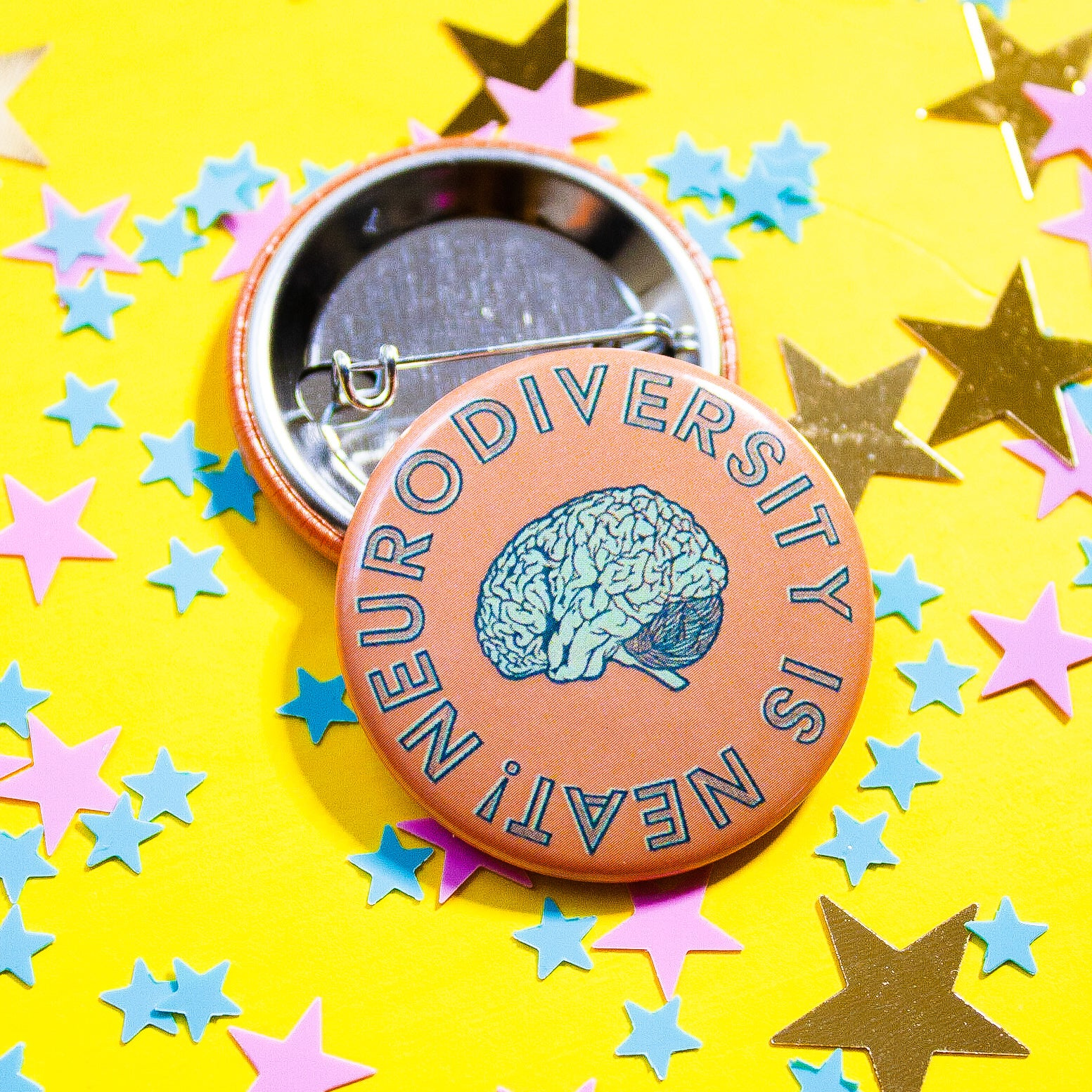 Neurodiversity is Neat Pin