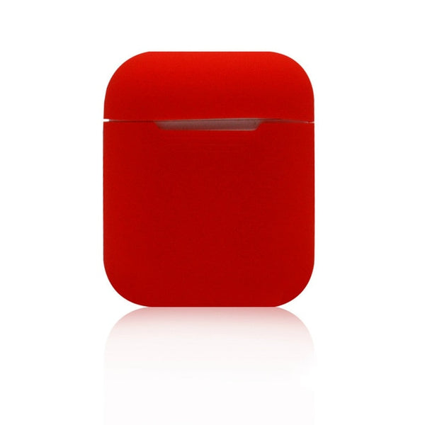 Kingdom Red Shockproof Silicone Air Pods Case