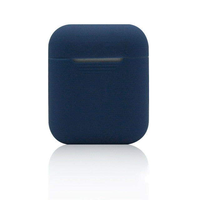 Nautical Blue NE Shockproof Silicone Air Pods Case