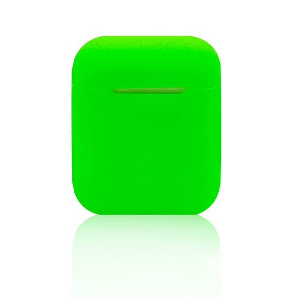 Seattle Slime Green Shockproof Silicone Air Pods Case