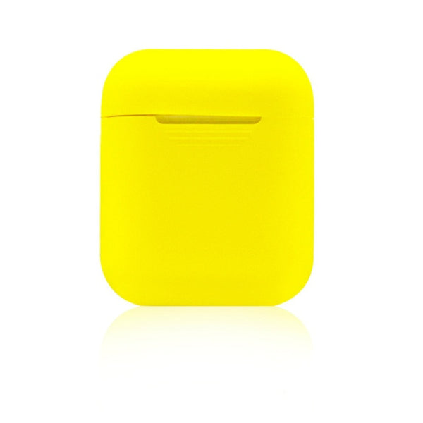 Pittsburgh Yellow Shockproof Silicone Air Pods Case