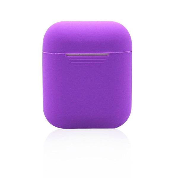 Viking Purple Shockproof Silicone Air Pods Case