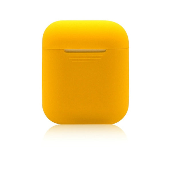 Green Bay Yellow Shockproof Silicone Air Pods Case