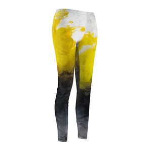 Women's Cut & Sew Casual Leggings-Js Fashion Leggings - JsFashionUS